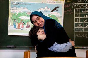 Lớp học đặc biệt tại chảo lửa Gaza