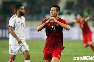 Tiến Linh ghi bàn đánh bại UAE, Việt Nam lên đầu bảng G Vòng loại World Cup 2022