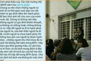 Hội trưởng Hội Phụ huynh gây phẫn nộ vì… kỳ thị cha mẹ đơn thân, gia đình nghèo