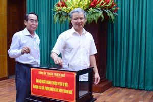 Thừa Thiên - Huế: Tiếp nhận gần 1 tỷ đồng ủng hộ người nghèo trong dự án di dân lịch sử