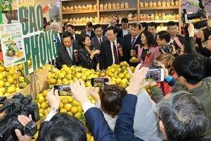 Hòa Bình đem nông sản chất lượng giới thiệu tại Hà Nội