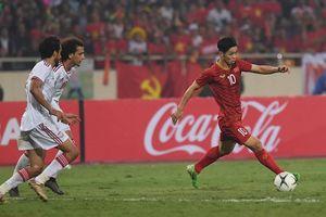 Thắng thuyết phục UAE, ĐT Việt Nam vượt qua Thái Lan, dẫn đầu bảng G