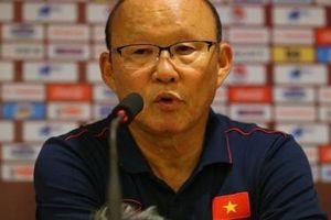 Huấn luyện viên Park Hang Seo nói gì sau trận thắng UAE?