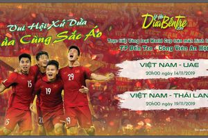 Hơn 10.000 người xem miễn phí trận Việt Nam - UAE tại lễ hội Dừa Bến Tre 2019