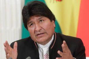 Cựu Tổng thống Morales sẵn sàng trở lại Bolivia để ngăn chặn bạo lực