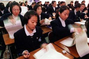 Kỳ thi đại học ở Hàn Quốc hơn 20 năm trước