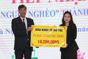 Tiếp nhận thêm hơn 200 triệu đồng ủng hộ Quỹ 'Vì người nghèo' TP Hà Nội