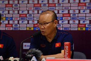 Thầy Park muốn duy trì sự tập trung cho trận gặp Thái Lan