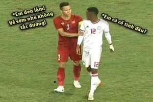 Hải Quế bị chế ảnh sau trận đội tuyển Việt Nam thắng UAE vì hành động này