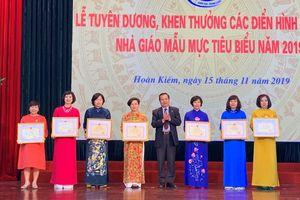 Hà Nội: Vinh danh giáo viên tiêu biểu quận Hoàn Kiếm
