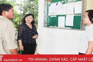 Sáp nhập xã, 44 cán bộ - công chức ở Hương Sơn có nguyện vọng nghỉ việc