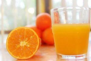 Cách uống nước cam để đánh tan mỡ bụng