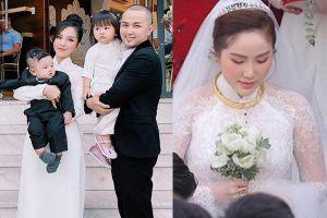 Đám cưới em gái, gia đình anh trai ca sĩ Bảo Thy lại giật hết spotlight bởi ngoại hình cả nhà đều đẹp