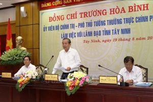 Tỉnh Tây Ninh tăng cường các biện pháp phòng ngừa tham nhũng