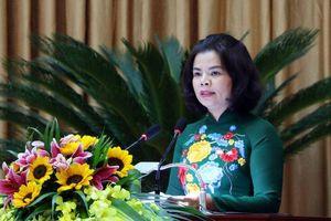 Bà Nguyễn Hương Giang được bầu giữ chức Chủ tịch UBND tỉnh Bắc Ninh