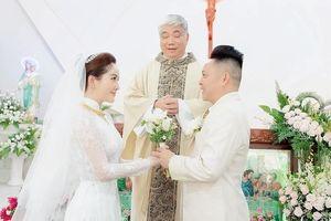 Sau lễ cưới, Bảo Thy chia sẻ về chồng: 'Anh không lãng mạn ngôn tình nhưng chăm sóc tôi như nàng công chúa'