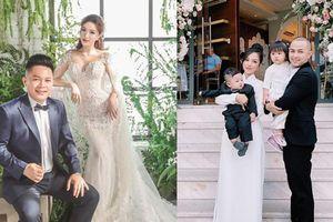 Đám cưới ca sĩ Bảo Thy: Gia đình Thế Bảo - Trang Pilla rạng rỡ, nhắn nhủ điều xúc động tới cô dâu trong ngày vui