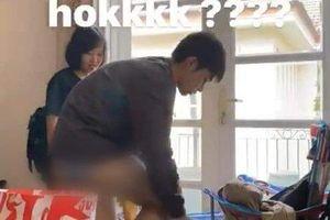 Ninh Dương Lan Ngọc nhận nhiều chỉ trích khi đăng tải hình ảnh Jun Phạm thay quần