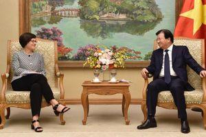 Phó thủ tướng muốn sớm gỡ bỏ 'thẻ vàng' đối với thủy sản của Việt Nam xuất sang EU