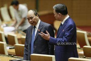 Hình ảnh bên lề phiên họp chiều 14/11, Kỳ họp thứ 8 Quốc hội khóa xiv