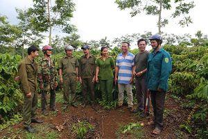 Công an Đắk Nông tăng cường đảm bảo an ninh, trật tự mùa thu hoạch nông sản