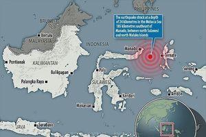 Động đất mạnh 7,1 richter, Indonesia ban bố cảnh báo sóng thần