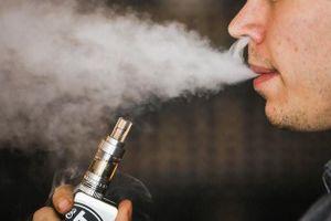 Đề xuất cấm hoàn toàn thuốc lá điện tử, shisha