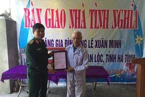 Học viện Hậu cần trao nhà tình nghĩa tặng thân nhân liệt sĩ tại Hà Tĩnh