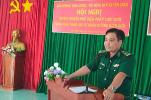 Tuyên truyền pháp luật cho cán bộ, nhân dân khu vực biên giới tỉnh An Giang