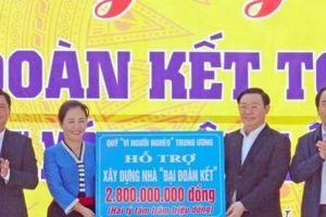 Phó Thủ tướng Vương Đình Huệ dự Ngày hội Đại đoàn kết toàn dân tộc tại Nghi Lộc, Nghệ An
