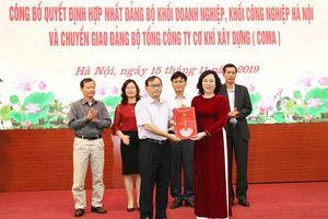 Thành ủy Hà Nội công bố các quyết định về công tác tổ chức, cán bộ