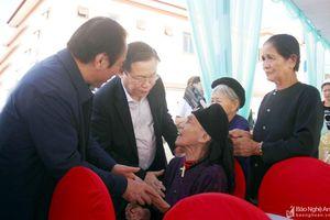 Phó Thủ tướng Vương Đình Huệ: Phát huy khối đại đoàn kết dân tộc, chung tay xây dựng cuộc sống ấm no