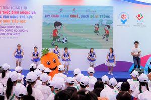 300 học sinh Hưng Yên hào hứng tìm hiểu kiến thức dinh dưỡng học đường
