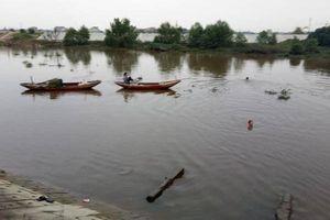 Ngã xuống sông Cày, một nam sinh lớp 9 tử vong