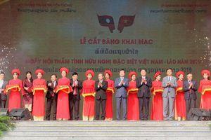 'Thắm tình hữu nghị đặc biệt Việt Nam – Lào'