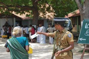 Bầu cử Tổng thống Sri Lanka: An ninh được thắt chặt