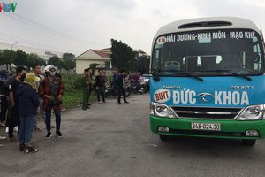 Phát hiện lái xe buýt tử vong bất thường trong ca bin