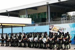 Hong Kong điều biệt đội phi hổ đối phó biểu tình