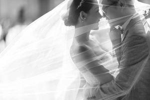 Ảnh cưới của BTV Thu Hà và bạn trai ở Pháp