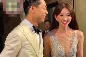 Dàn nghệ sĩ và công chúng hò reo ở lễ cưới Lâm Chí Linh