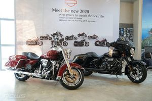 Harley Davidson ra mắt một loạt xe phiên bản mới