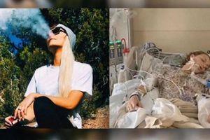 Có bao nhiêu học sinh đã liều lĩnh hút thuốc lá điện tử?