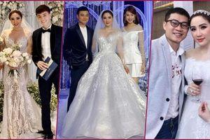 3 bộ chụp ảnh cưới chưa là gì, 3 váy cưới chính thức của Bảo Thy mới thực sự là cực phẩm!