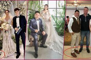 Tâm lý như Bảo Thy: dặn Thúy Ngân đi dép bệt, mình giày thấp nhường chồng mang giày độn đế cả chục centimet