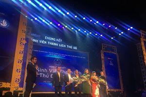 Nữ sinh HANU giành Giải Nhất cuộc thi Nữ sinh thanh lịch Thủ Đô
