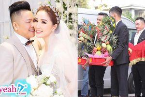 Bê tráp cho đám cưới Bảo Thy được nhận phong bì 10 triệu, đài thọ từ đồ vest đến tiệc tùng no say