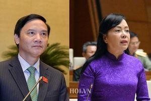 Tuần làm việc thứ 5: Quốc hội sẽ tiến hành miễn nhiệm 2 nhân sự nào?