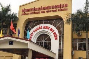 Nghệ An: Bé 10 tháng tuổi tử vong sau tiêm kháng sinh