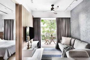 Căn hộ 36m² được thiết kế theo phong cách Scandinavian truyền cảm hứng cho người nhìn
