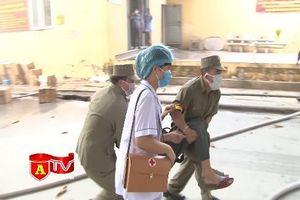 Diễn tập chữa cháy tại khu dân cư phường Phương Liệt